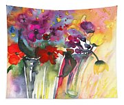 Wild Flowers Bouquets 02 Tapestry