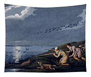 Wild Fowl Shooting, 1820 Tapestry