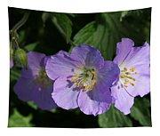Wild Geraniums Tapestry