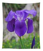 Wild Growing Iris Croatia Tapestry