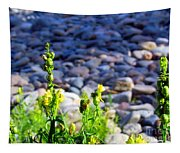 Wild Snapdragons  Tapestry