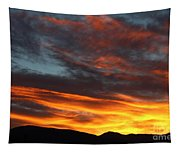 Wild Sunrise Over The Mountains Tapestry
