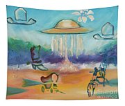 Wild Wild West By Karen E. Francis Tapestry