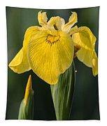 Wild Yellow Iris Tapestry