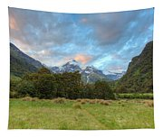 Wilderness Sunset Tapestry