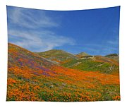 Wildflower Extravaganza  Tapestry