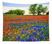 Wildflower Tapestry Tapestry