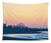 Wildwood Beach Panorama Tapestry