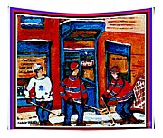 Wilenskys Hockey Art Posters Prints Cards Originals Commission Montreal Paintings Contact C Spandau Tapestry