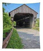 Willard Covered Bridge North Hartland Vermont Tapestry