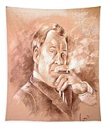 William Shatner As Denny Crane In Boston Legal Tapestry