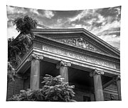 Williamson County Courthouse Bw Tapestry