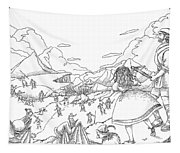 Willima Tell Freedom Fighter Tapestry