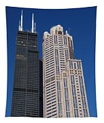 Willis Tower Chicago Tapestry