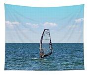Wind Surfer Tapestry