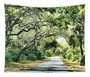 Winding Path Tapestry
