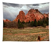 Winding Through The Garden Of The Gods Tapestry