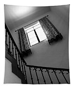 Window And Stairs Tapestry