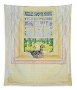 Window Geese Tapestry