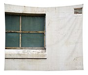 Window On Concrete Tapestry