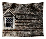 Window On Squares Tapestry