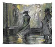 Window Shopping Tapestry