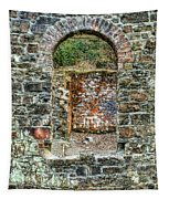 Window To A Bygone Heritage Tapestry