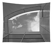 Window To The Sun - 4 - Bw Tapestry