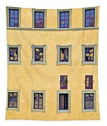 Windows Of Florence Tapestry