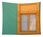 Windows Of The World - Santiago Chile Tapestry
