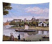 Windsor Castle From Across The Thames Tapestry