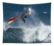 Windsurfer Hanging In Tapestry