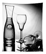 Wine Glasses Tapestry