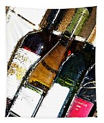 Wine In A Row Tapestry