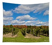 Wine In Waiting Tapestry
