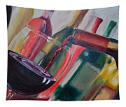 Wine Pour IIi Tapestry