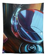 Wine Reflections Tapestry