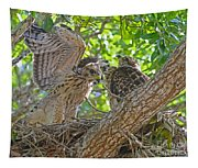 Wing Test Tapestry
