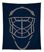 Winnipeg Jets Goalie Mask Tapestry