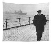Winston Churchill Tapestry