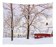 Winter Arrives Tapestry
