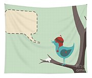 Winter Bird Tapestry