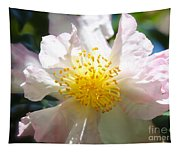 Winter Camellia Tapestry