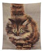 Winter Cat Tapestry
