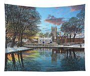 Winter Evening Tickhill Yorkshire Tapestry