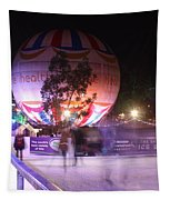 Winter Gardens Ice Rink And Balloon Bournemouth Tapestry