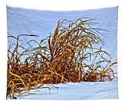 Winter Grasses II Tapestry