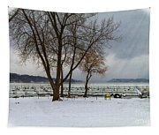 Winter Has Arrived Tapestry