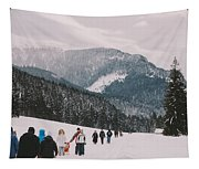 Winter Hike Tapestry