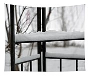 Winter Ironwork Tapestry